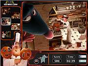 Игра Найти предметы - Рататуй