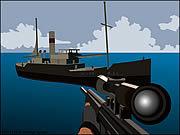 Игра Фокси снайпер - перестрелка пиратов