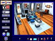 Игра Голубая комната скрытый объект