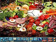 Игра Найди предметы: продукты