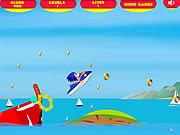 Игра Super Sonic Лыжный