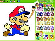 Игра Рисовалки с Марио