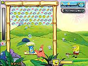 Игра Спанч Боб - Сладкий пузырь