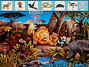 Игра Лесные животные скрытые объекты