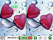Игра Бесплатно найти отличия - Мое сердце