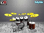 Игра Победить его - Виртуальный Барабан