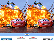 Игра Disney Cars Find the Differences
