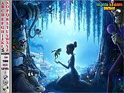 Игра Принцесса и лягушка - Найти буквы