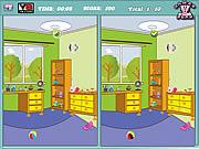 Игра Найти отличия - Детская комната