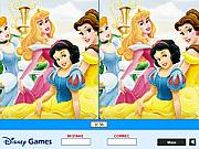 Игра Найти отличия - Принцесса Диснея