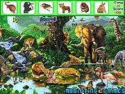 Игра Животные - Найти предметы