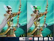 Игра Найти отличия - Битва драконов