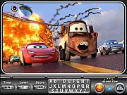 Игра Машинки 2 - Найти буквы