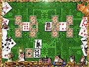 Игра Пасьянс - кошечка с терпением