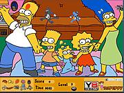Игра Скрытые предметы - Барт и Лиза Симпсон