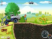 Игра Езда на тракторе онлайн