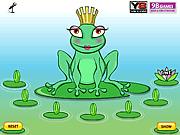 Игра Королева лягушек одевается