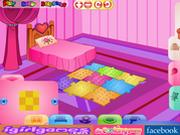 Игра Прекрасная спальня девушки