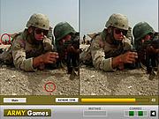 Игра Найди отличия  - Война