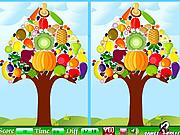 Игра Найди отличия - растительное дерева