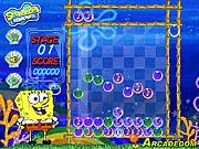Игра Губка Боб и веселые пузырики