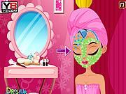 Игра Супермодель делает макияж