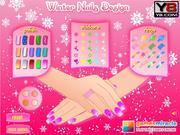 Игра Зимний маникюр и уход за ногтями