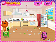 Игра Big House Cleanup