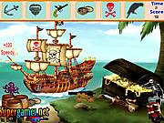 Игра Найти предметы - Пиратский остров
