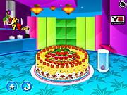 Игра Прикольный фруктовый торт