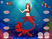 Игра Одевалки русалочки на морские танцы