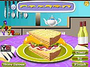 Игра Украсьте сендвич