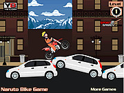 Игра Наруто - велосипед