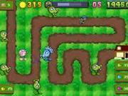 Игра Монстры атакуют урожай