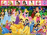Игра Принцессы Диснея - Найди предметы