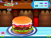 Игра Самый большой бургер в мире