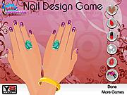 Игра Прекрасный дизайн для ногтей