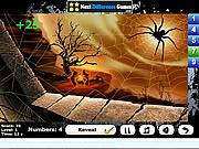 Игра Найти числа - Тыква для Хэллоуина