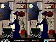 Игра Найди отличия  - Хэллоуин