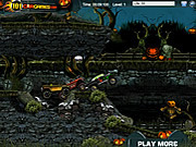 Игра Кладбищенские гонки на Хэллоуин