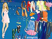 Игра Платье для Ханны Монтаны
