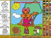 Игра Детская книжка-раскраска