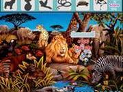 Игра Поиск предметов - Лесные животные