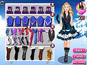 Игра Зимняя мода для Барби