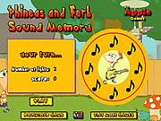 Игра Финес и Ферб: прекрасная память