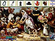 Игра Найти предметы  - День Благодарения