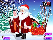 Игра Одень Санта Клауса