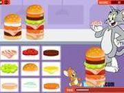 Игра Том и Джерри: гамбургеры