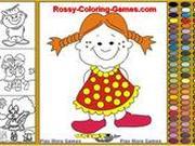 Игра Раскраска для маленьких детей