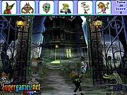 Игра Найти предметы  - Страшные приведения